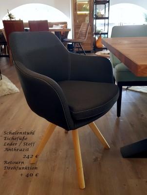 Schalenstuhl-Samira-Leder-Stoff-Eichefuesse