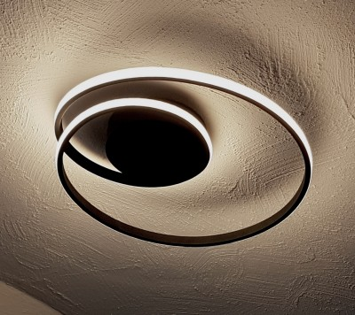 LED-Deckenlampe-Spirale-schwarz